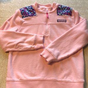 Medium (10/12) Vineyard Vines Zip Up Shirt